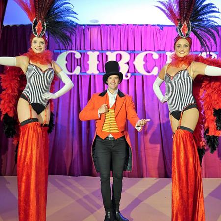 Greatest Showman themed performance (The Vegas Show Girls)