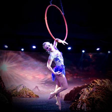 Anastasiia Bogoslova - Aerial Ring