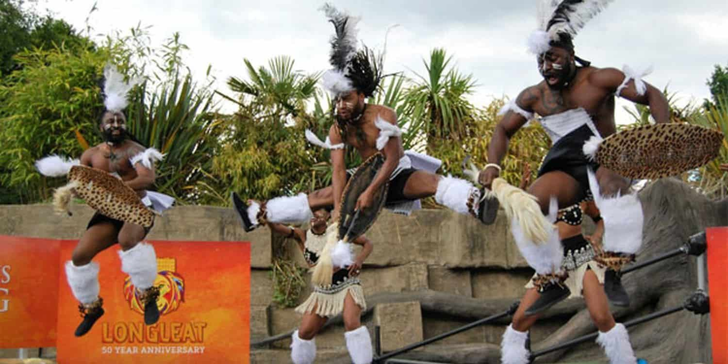 Traditional Dancers Perform At Longleat's African Summer