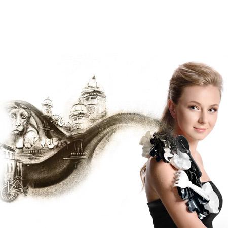 Svetlana Goncharenko - Sand Artist