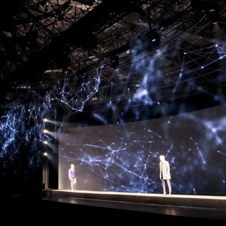 Four:55 - Holographic Fashion Show