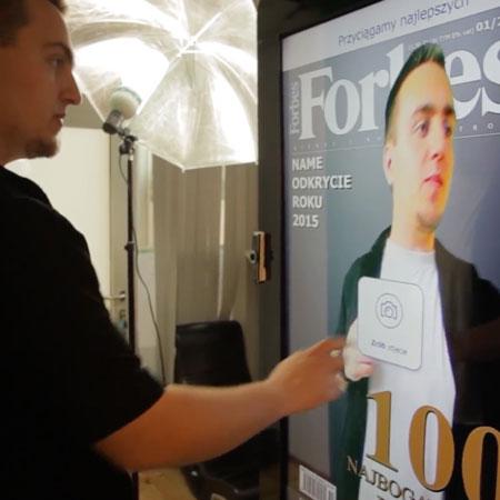VR Delivr - Multi-touch Screens