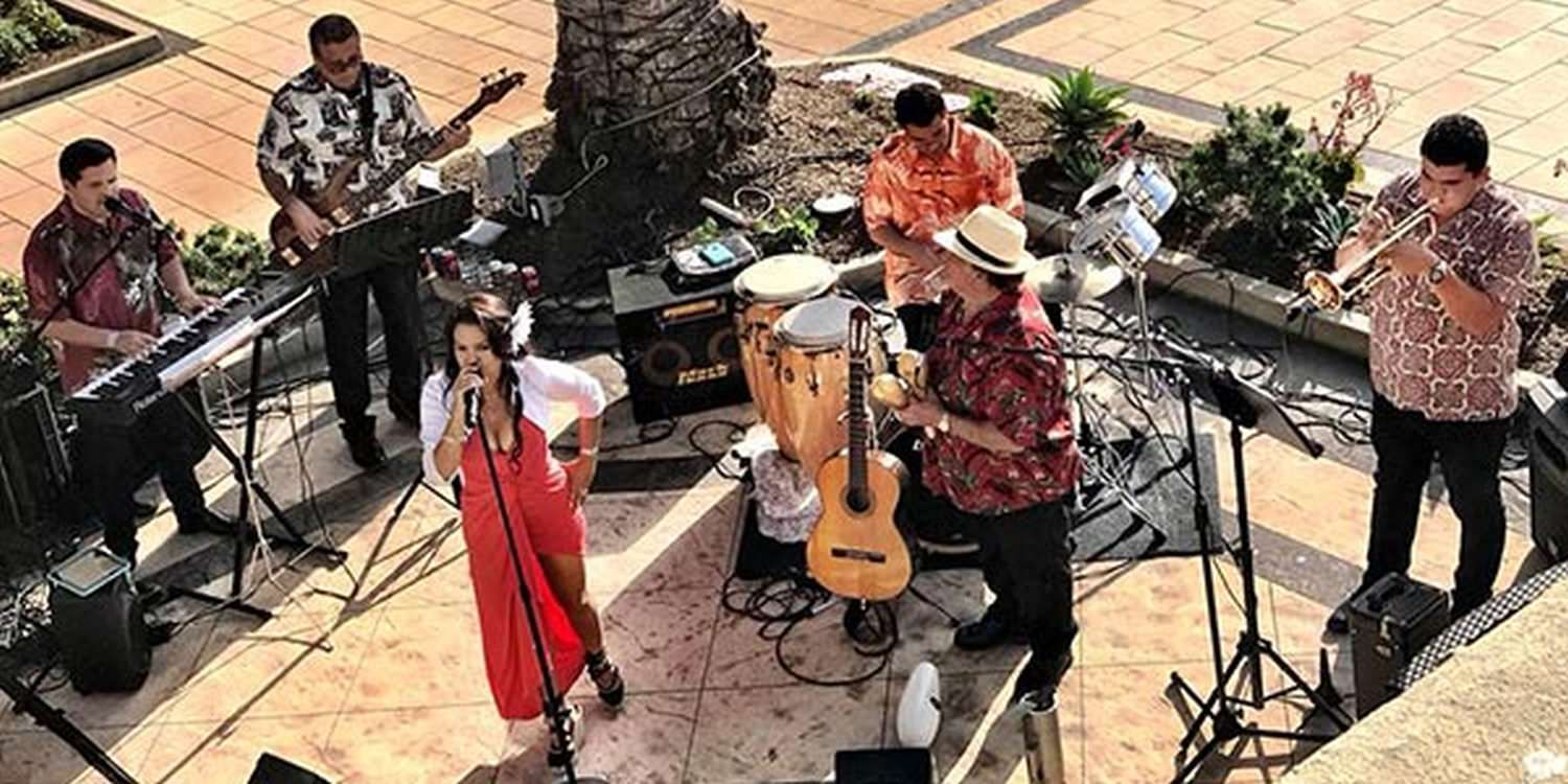 Californian Cuban Party Band Spice Up LG Event In Dana Point
