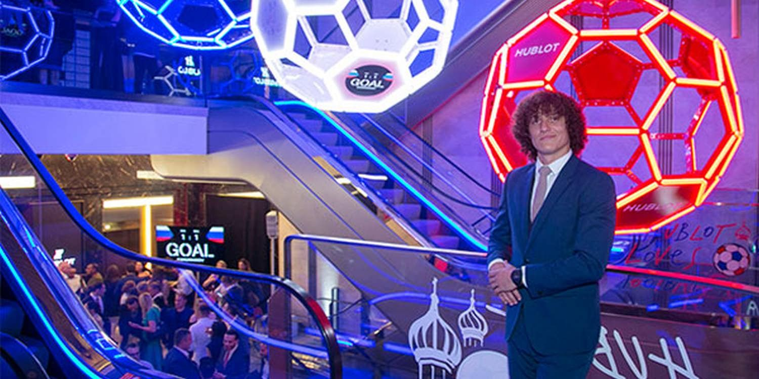 Hublot Brand Activation At Harrods With Football Star David Luiz | What It Takes To Become A Champion