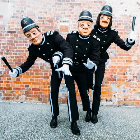 The Mask Family - The English Bobbies