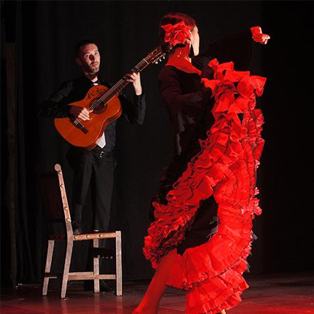 Adam Westcott - Corales Flamencos (flamenco Guitarist + dancers)
