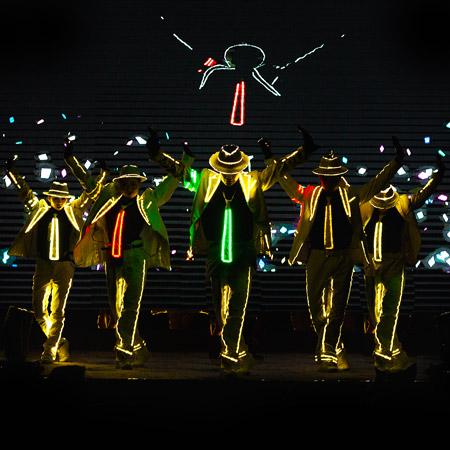LED Michael Jackson