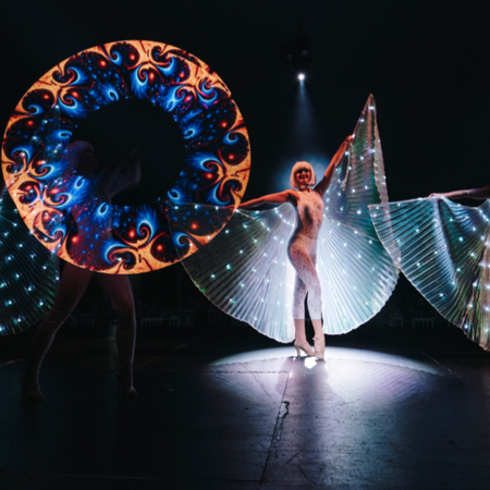 Gravitylive - Epic LED Wings Act