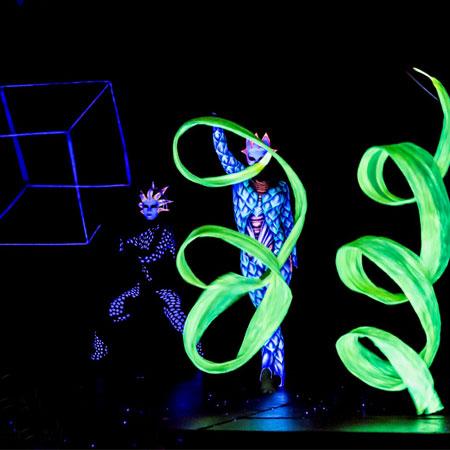 Vertigo - Light and UV Show