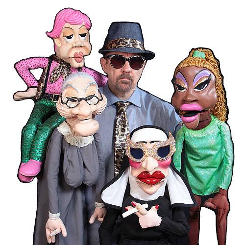 Jerry Halliday - America's BAWDIEST Puppeteer