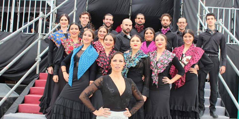 17 Flamenco Dancers Fly To Taiwan