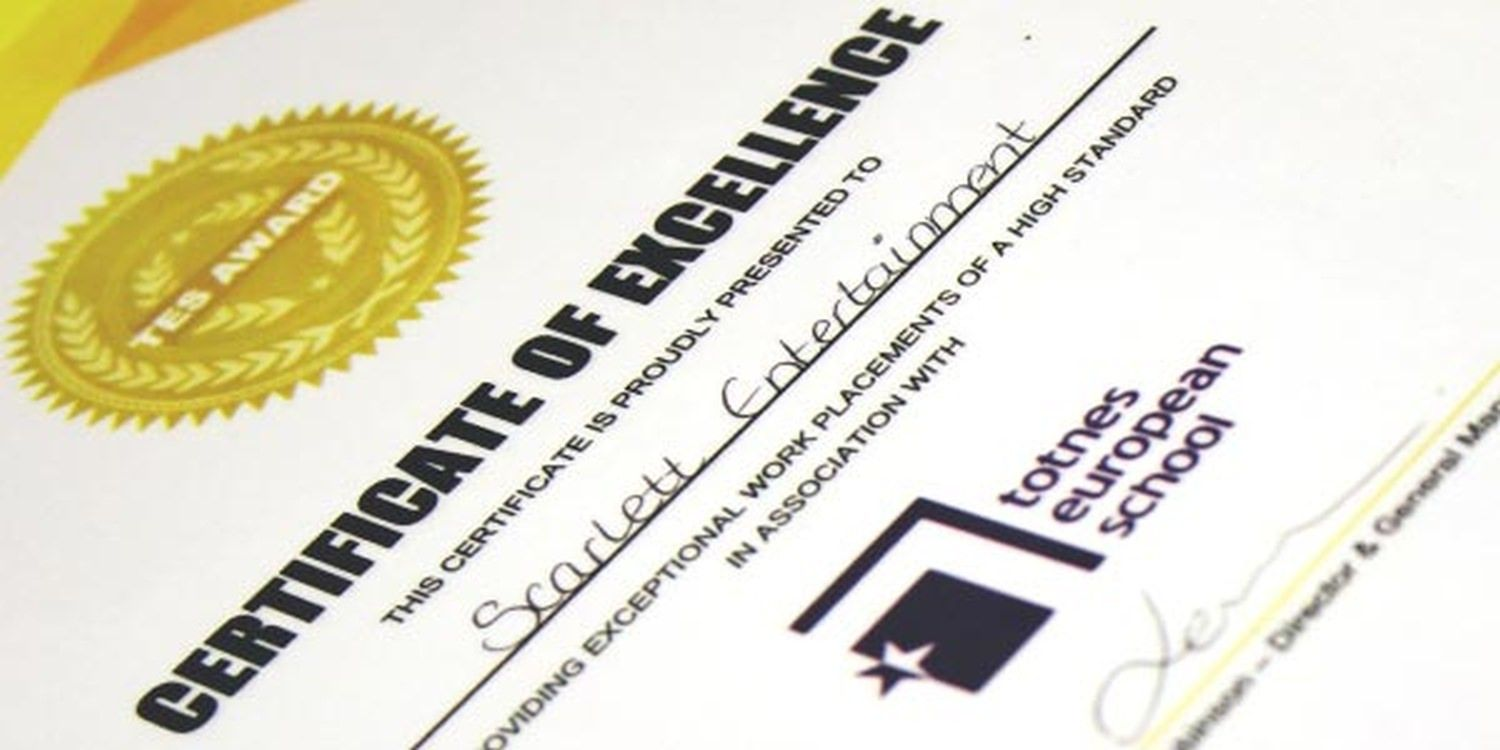 Scarlett Entertainment Awarded Certificate Of Excellence