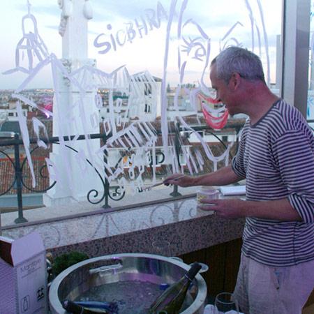 Anthony Garner - Live Glass Artist