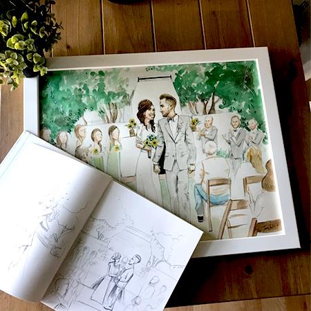 Vita Perfetta - Wedding Sketching