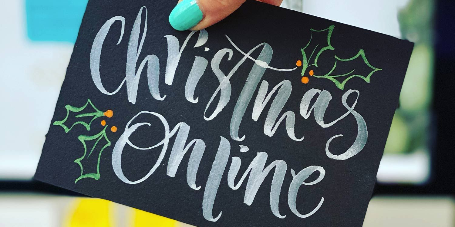 Feeling Festive with Christmas Calligraphy Online