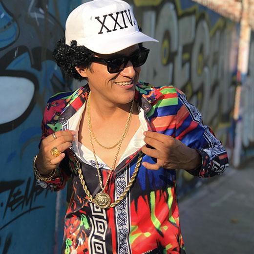 Johnny Rico As Bruno Mars