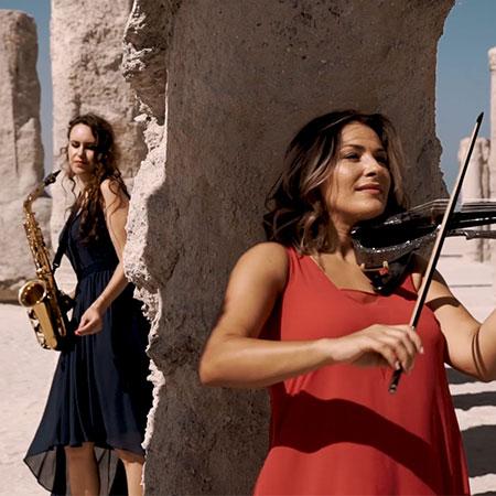 Pasha - Female Electric Violin and Sax Duo