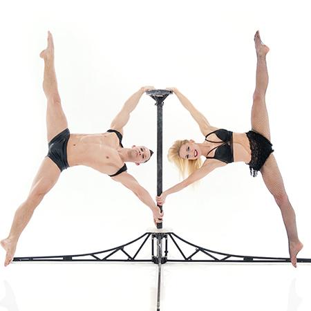 "Duo ""Alansia"" - Acrobatic Pole Duo"