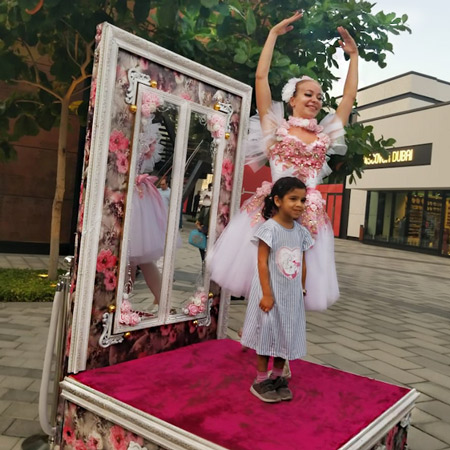 Ballerina In A Box - In House Production