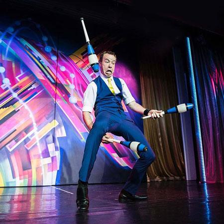 James Bustar - Comedy Juggler