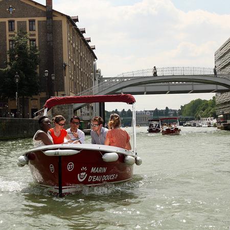 Marin D'eau Douce- Boat treasure hunt