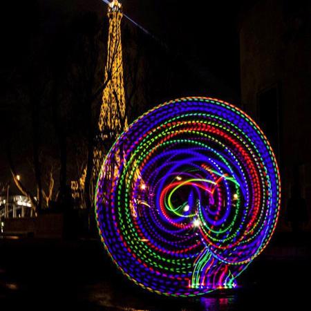 Lila Chupa-Hoops - LED Hula Hoop