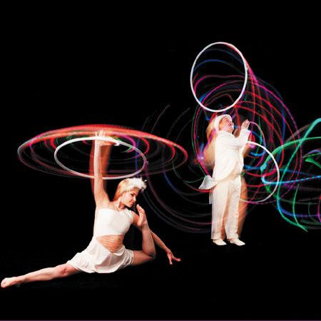 Hoop La La - LED Hoop Show