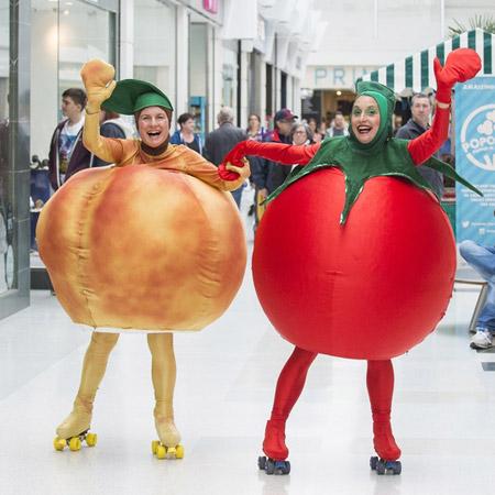 Mind Blowers - Rollerskating Vegetables