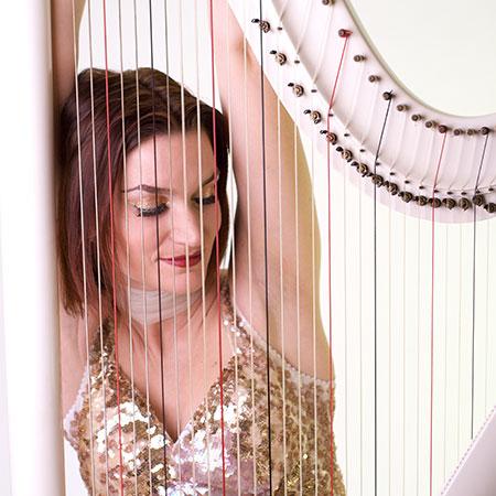 Sabine James - Harp Player