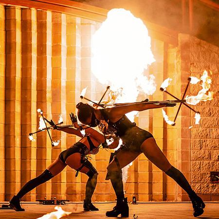 Illizium - Fire Show