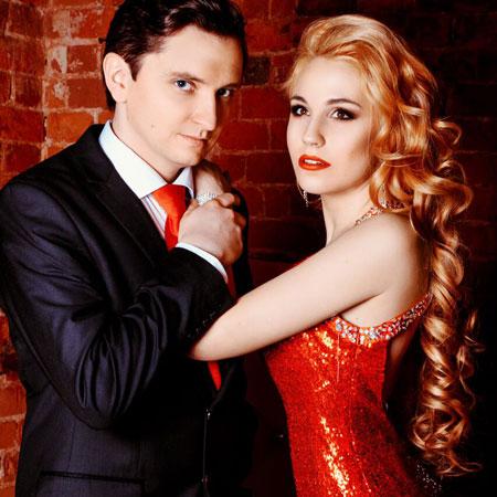 Yuliya and Roman Alekseevs
