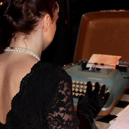 The Zelda Fitzgeralds - Event Typewriters (Gatsby theme)