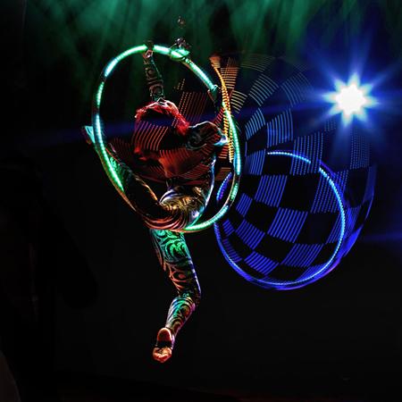 Valeria Maya - LED Hoop