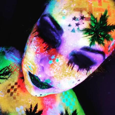 Flores de Colores Art - Body Painting