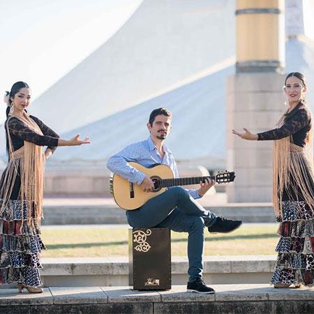 Nadim Robert Majure - Guitarist & Flamenco Dancers