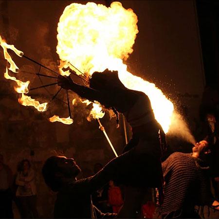 I Nuovi Scalzi - Fire Shows
