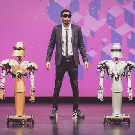 Drikybot - Human & Robot Dancers