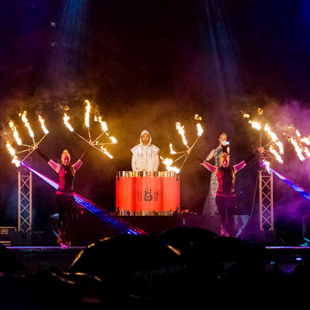 Phoenix - LED Drummers