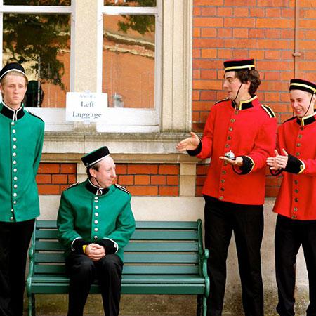 The Bell Boys - Royal Footmen