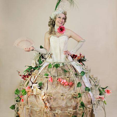 Pyromantic - Champagne Dresses