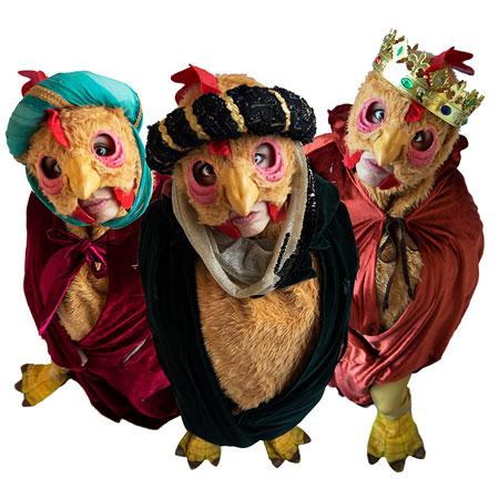Three Wise Hen - Joy Magnet