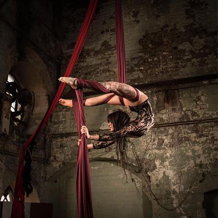 Francesca Carlson - Aerialist and Acrobat