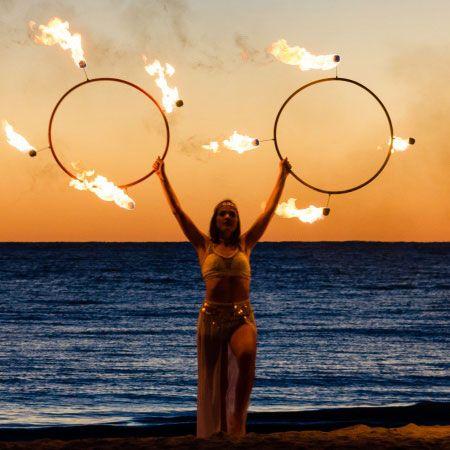 Molly Lindberg - LED & Fire Hula Hoop