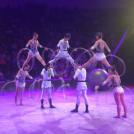 Shenzhen Acrobatic Arts Group - The Top of the Ball