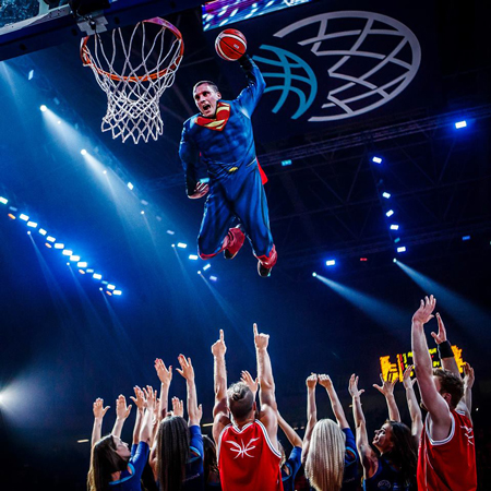 Dunking Devils- Freestyle Dunk Show
