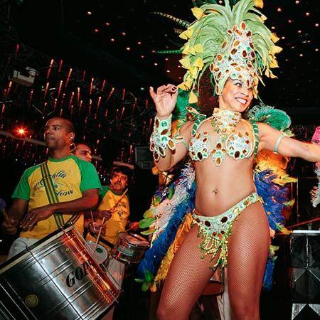 Tropicalia - Samba Drummers & Dancers