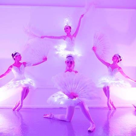 Sophie Adams Ballet Company - LED Great Gatsby Ballerinas