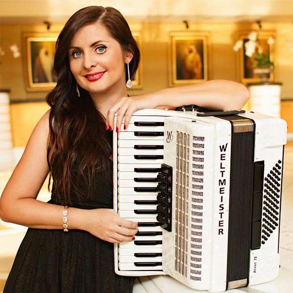 Female Accordionist Dubai