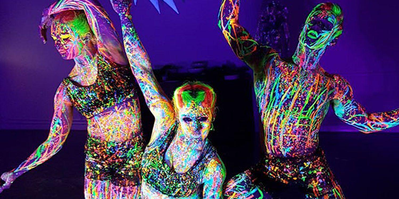 UV Dancers Glow In London