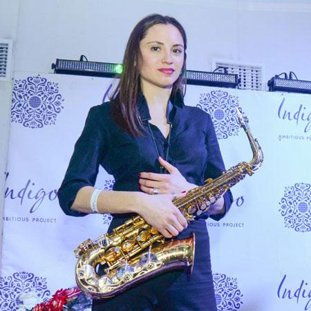 Natalia Yemelianova - solo sax